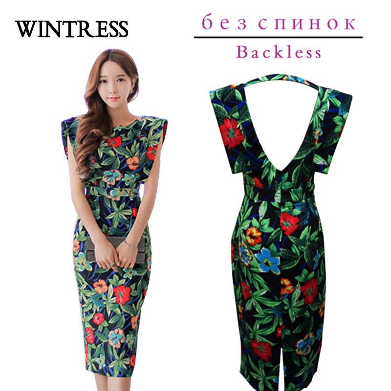 Online Get Cheap Sleeveless Midi Bodycon Dress -Aliexpress.com ...