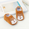 Cute  Squirrel for All Seasons Indoor Baby Slippers Easy Slip on Baby Shoes Soft Infant Toddler Shoes First Walkrs