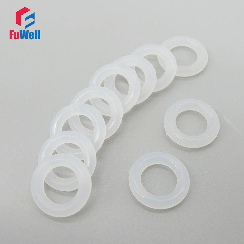 15 mm de di/ámetro exterior Sourcingmap junta t/órica de silicona 50 unidades 3,1 mm de ancho junta de sellado VMQ roja 8,8 mm de di/ámetro interior