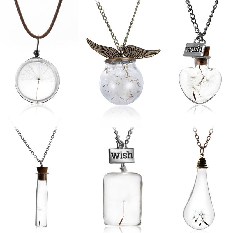 Creative Vial Necklaces