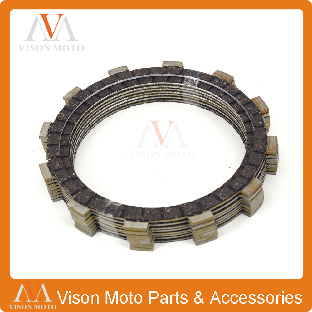 Clutch Friction Plates Disc Set 8pcs For YAMAHA YZF-R1 YZFR1 YZF R1 1999 2000 2001 2002 2003 99 00 01 02 03 custom free 100% injection mold fairings kits for yamaha yzf r1 2002 2003 yzfr1 02 03 yzf r1 black white abs fairing body parts