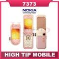 Teléfono móvil NOKIA 7373, desbloqueado MP3 Bluetooth cámara Vedio FM Classic teléfono celular reparado