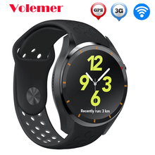 Latest I3 Sensible Watch MTK6580 Android 5.1 OS Silicone Leather-based Wristband SIM Card 3G WIFI GPS Google Play Coronary heart Charge Smartwatch
