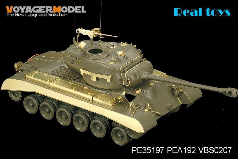 Voyager 1:35 WWII US Army M26 Pershing Tank Basic (For Tamiya 35254) PE35197 parmigiani pershing pfc528 3402500 xa3142