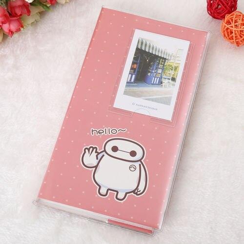 Горячая 84 кармана 1 шт. Мини пленка Instax Polaroid Альбом чехол для хранения фото модные домашние Семейные друзья сохранение памяти сувенир - Цвет: Pink Dot