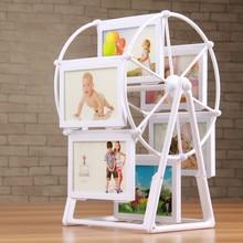 Ferris kolesa fotookvir kombinacija 5 palčni ustvarjalni otroški vetrni otroški otroški foto poročni foto okvir za zasuk-142