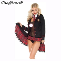 Dear Lover Free Shipping Adult Uniform Cosplay Halloween Costumes For Women Seductive School Girl Costume Set