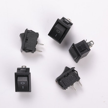 Two-Speed Two-Legged Ship Type Switch Button Length 21mm Width 14.8mm Height 20.5mm (Excluding Foot Height) Power