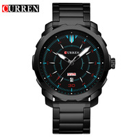 2018 Curren Watches Mens Watches Top Brand Luxury Relogio Masculino Curren Quartzwatch Fashion Casual Watch Erkek
