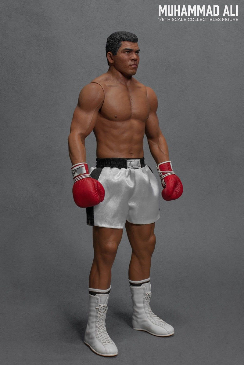 """IN STOCK Storm Collectibles MUHAMMAD ALI 1//12 Boxing 7/"""" Action Figure US SELLER"""