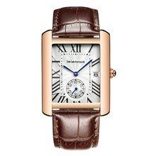 Nueva Marca de Lujo de múltiples funciones de Los Hombres correas de Cuero de Moda a prueba de agua Reloj de las mujeres Baratas de Deportes reloj de pulsera relogio masculino