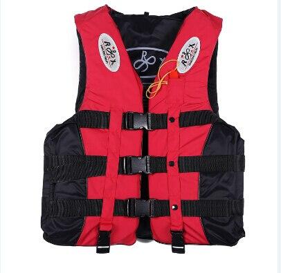 Спасательный жилет для активного отдыха Профессиональный купальный костюм для плавания рыбалка воды спортивная жизнь жилеты для Adut и детей 4 цвета 6 Размер - Цвет: Красный