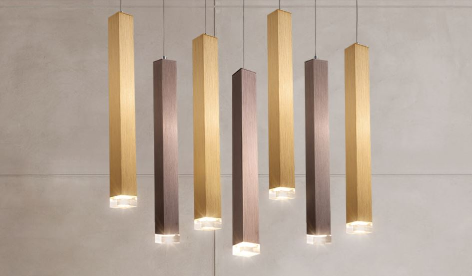 US $54.0 25% OFF|Led bar chandelier single head hotel front desk creative  personality art postmodern minimalist light luxury restaurant light-in ...