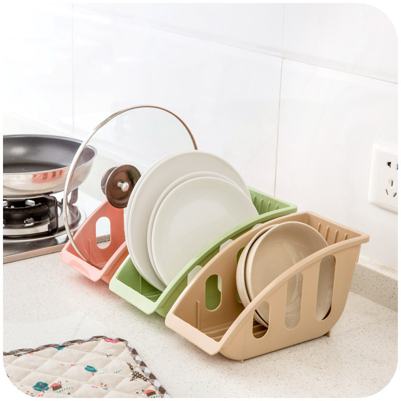 Eco-feiendly New Arrival Single LayerBowl Drain Rack Monitoiminen keittiön ruokalusikka Rack hylly Bowl Rack kaappi lautasen teline