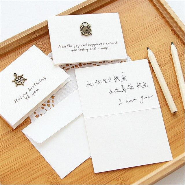 Heißer! 20 stücke gemischt Vintage Mini Eisen Karten Set Gruß ...