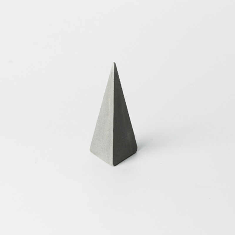 Cone moldes de silicone tridimensional anel titular moldes moldes de blocos de concreto