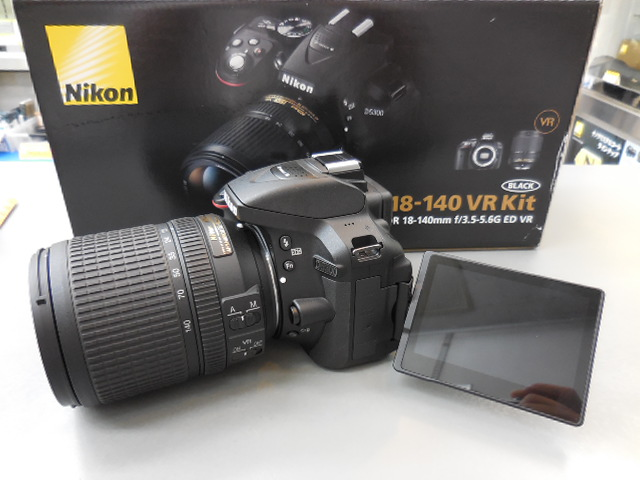 "Nikon D5300 DSLR Camera -24.2MP -1080P Video -3.2"" Vari-Angle LCD -WiFi & AF-S DX NIKKOR 18-140mm f/3.5-5.6G ED VR Lens"