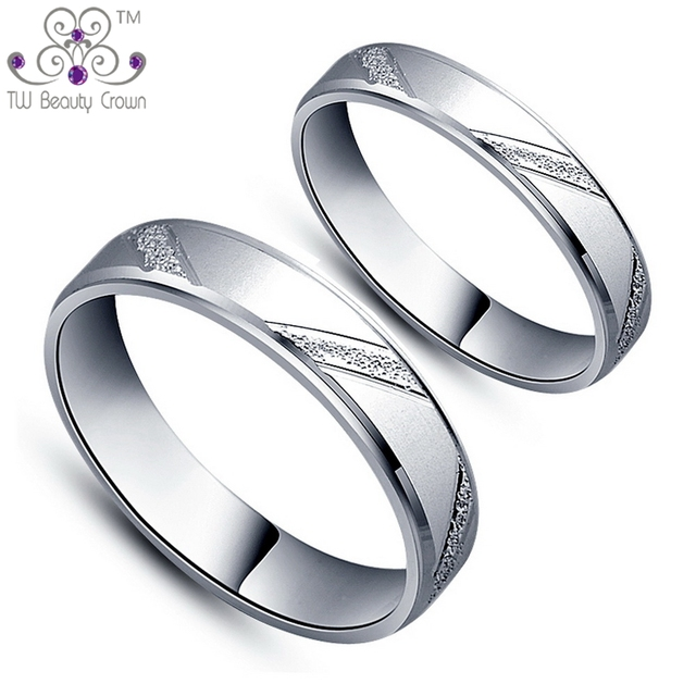 3606343ac3 High Quality Real 925 Solid Pure Silver Couple Lovers Middle Finger Rings  For Men And Women Wholesale And Retail Fashion Jewelry