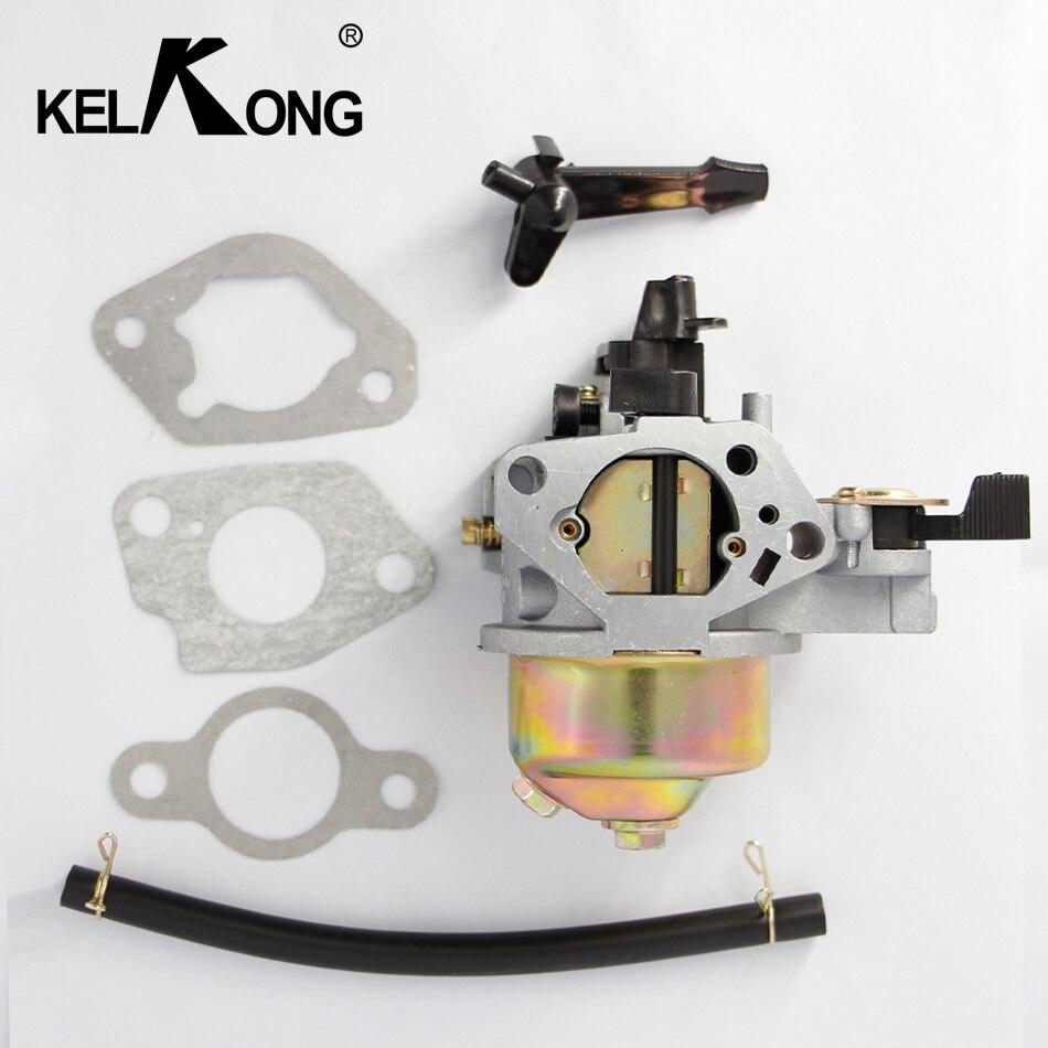 KELKONG Carburateur pour HONDA GX240 GX270 Carburador Carbu W/Joint Remplacer 16100-ZE2-W71 1616100-ZH9-820 Moteur De Tondeuse à gazon