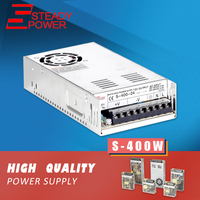 S 400W 12v 24v 48v Hot Sale CCTV Camera AC DC 100 Amp Power Supply