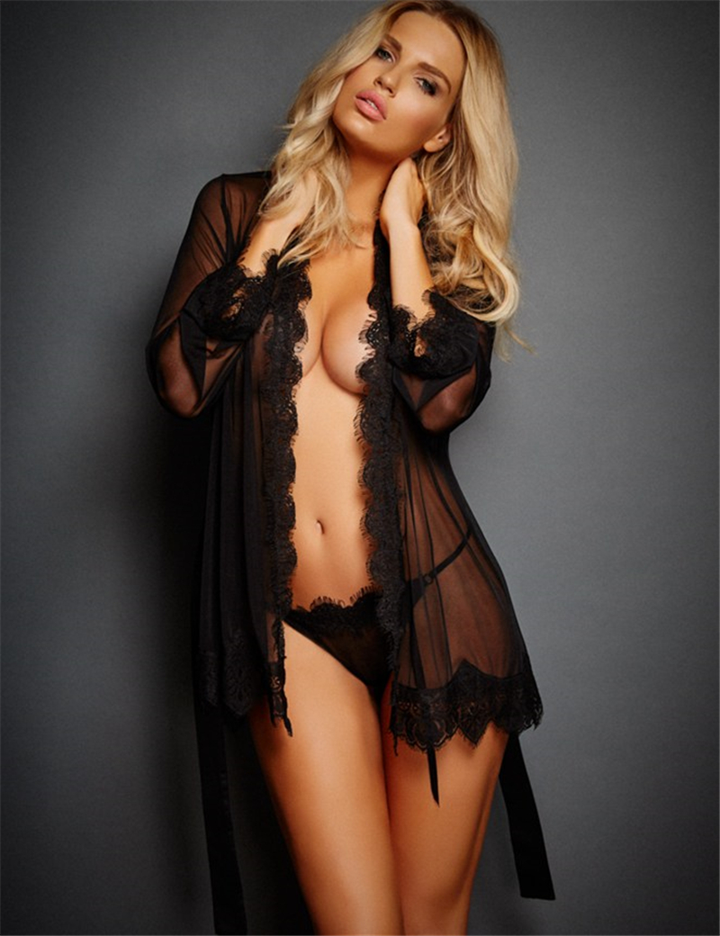 RQ80182 Threnn color font b Sex b font costumes Black lace Dress G string Belts Hot