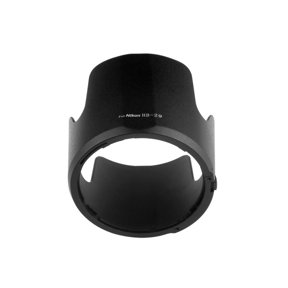 capsaver HB-29 Lens Hood for Nikon 70-0mm f/2.8 G-AF-S Bayonet Petal Lens Protector for Nikon with 2pcs Microfiber Lens Cloth 7