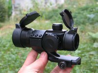 High Quality Hunting 1X35 Illuminated Red Green Dot Telescopic Sight With 20mm Mount For Rifles Shotguns