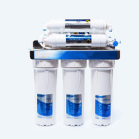 Level 6 water purifier water filtration system drink Reverse osmosis system water filter with faucet valve pipe D235