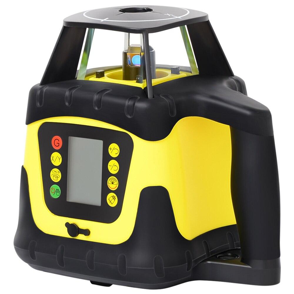 FIRECORE 207 Digital Display 360 Hohe Genaue Roten Rotary Laser Selbst nivellierung Laser Ebene Mit Empfänger Detektor