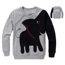 Бесплатная доставка, Нью-Слон, детей свитер, мальчик девочка Пуловер топ рубашки С Капюшоном Свитер балахон(China (Mainland))