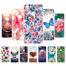 3D DIY Soft Silicone Case For Vivo V7 Coque Y75 Cover Flamingo Painted Fundas Housings