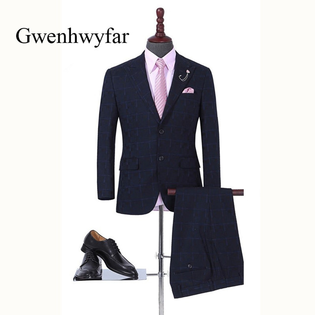 Gwenhwyfar High Quality T Patterns Men Coat Pant Groom Wedding Suits Fascinating Mens Coat Patterns