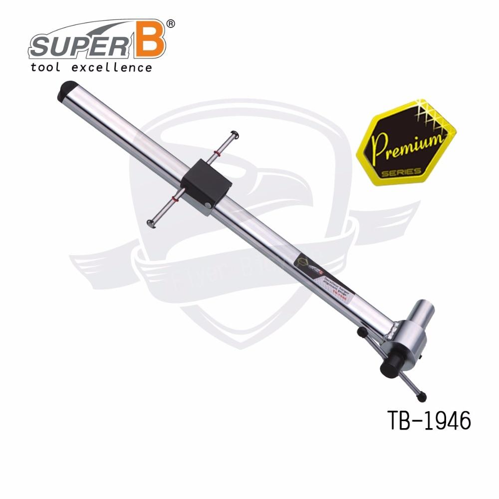 super B TB-1946 derailleur hanger alignment gauge for bicycle repair tools цена