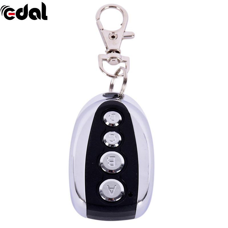 EDAL 433.92Mhz Cloning Gate for Garage Door Remote Control Switch Portable Duplicator Key the ivory white european super suction wall mounted gate unique smoke door