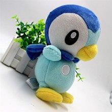 20 см Piplup Плюшевые Игрушки Pocket Monster детская Игрушка в Подарок Детский Мультфильм Милые Плюшевые Piplup Куклы Подарок для Детей/Ребенка