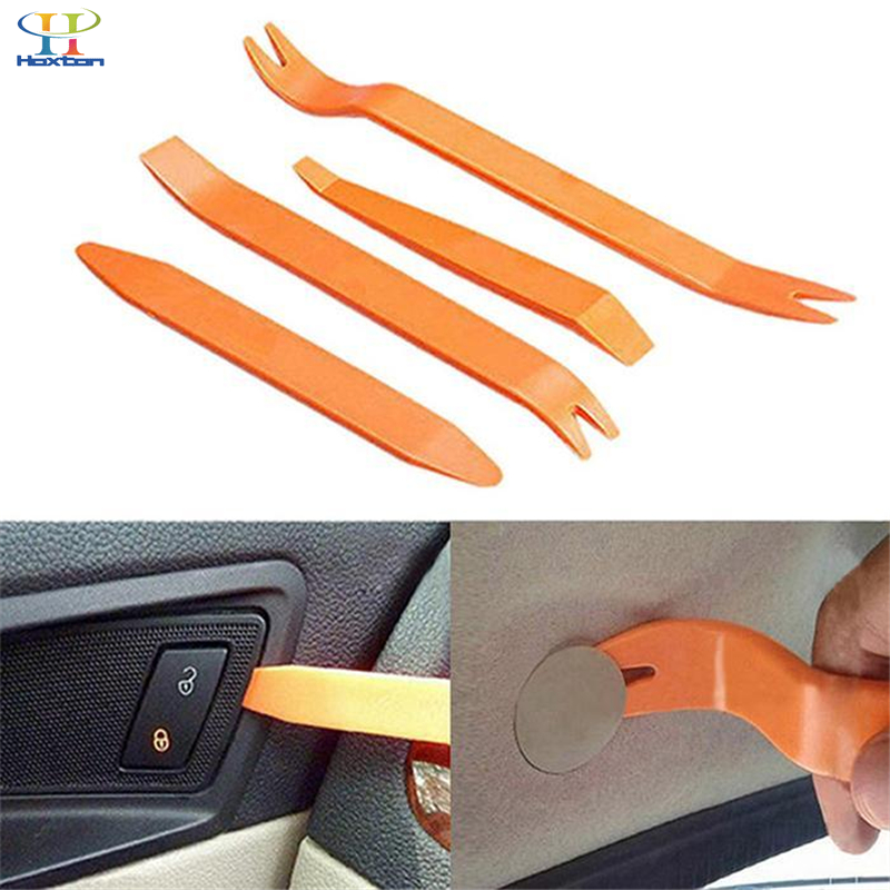 4 pieces Car audio door removal tool for Volkswagen Passat VW Polo B5 B6 CC GOLF 4 5 6 Bora tiguan Peugeot Auto car accessories