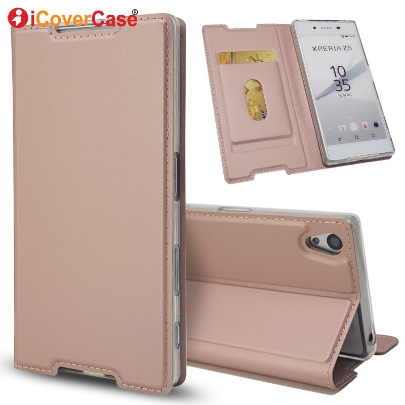 Fashion <font><b>Cases</b></font> For <font><b>Sony</b></font> <font><b>Xperia</b></font> <font><b>Z5</b></font> <font><b>E6653</b></font> E6603 E6633 E6683 Leather Wallet <font><b>Case</b></font> Phone Accessory Etui Capinha Carcasa Coque Capa image