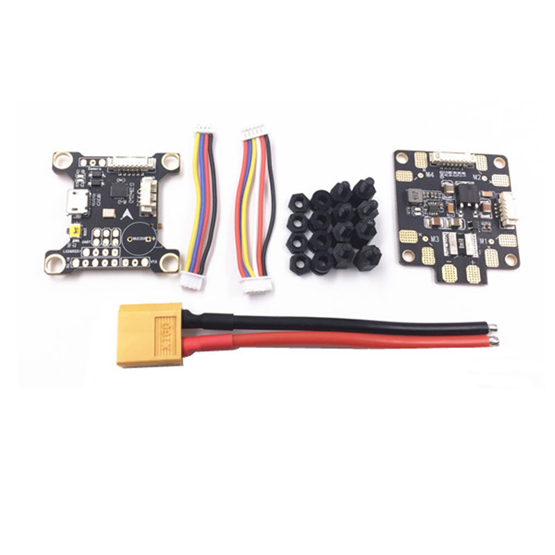 Mango Omnibus F3 Flight Controller AIO Betaflight OSD Current Sensor Buzzer Swith&PDB Board RC Multirotor VS Holybro Kakute F4 aurora rc omnibus f3 brushless flight controller