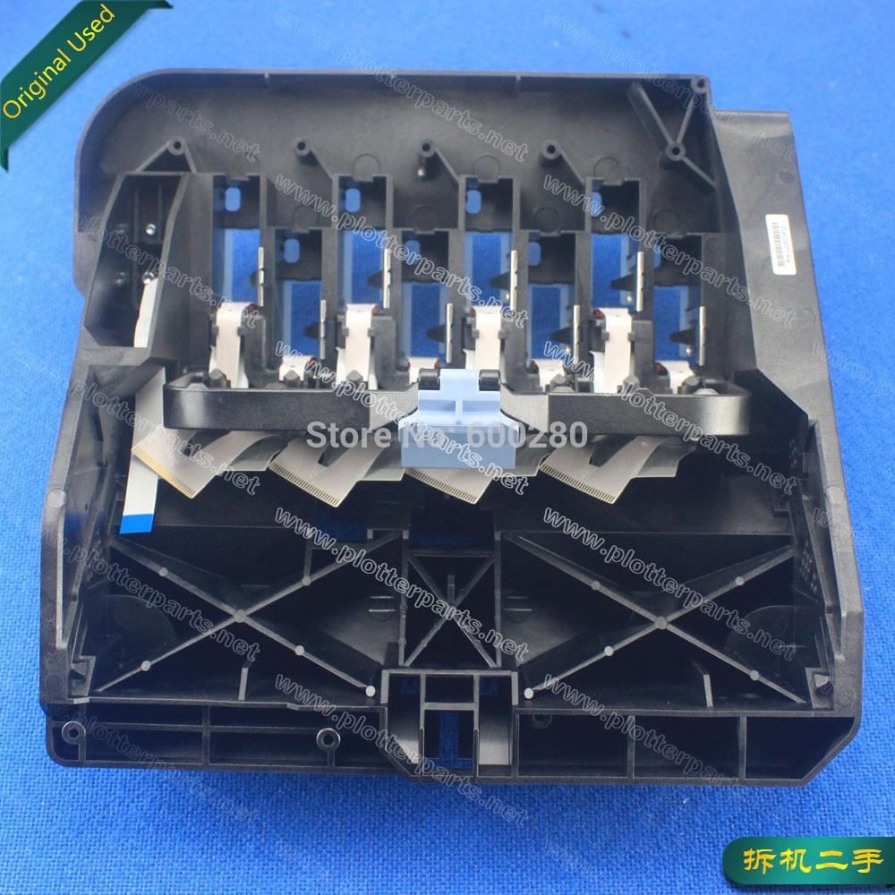 Q1273-60231 Q1273-60051 Carriage assembly HP Designjet 4000 4020 4500 4520 plotter part used спот paulmann 60231