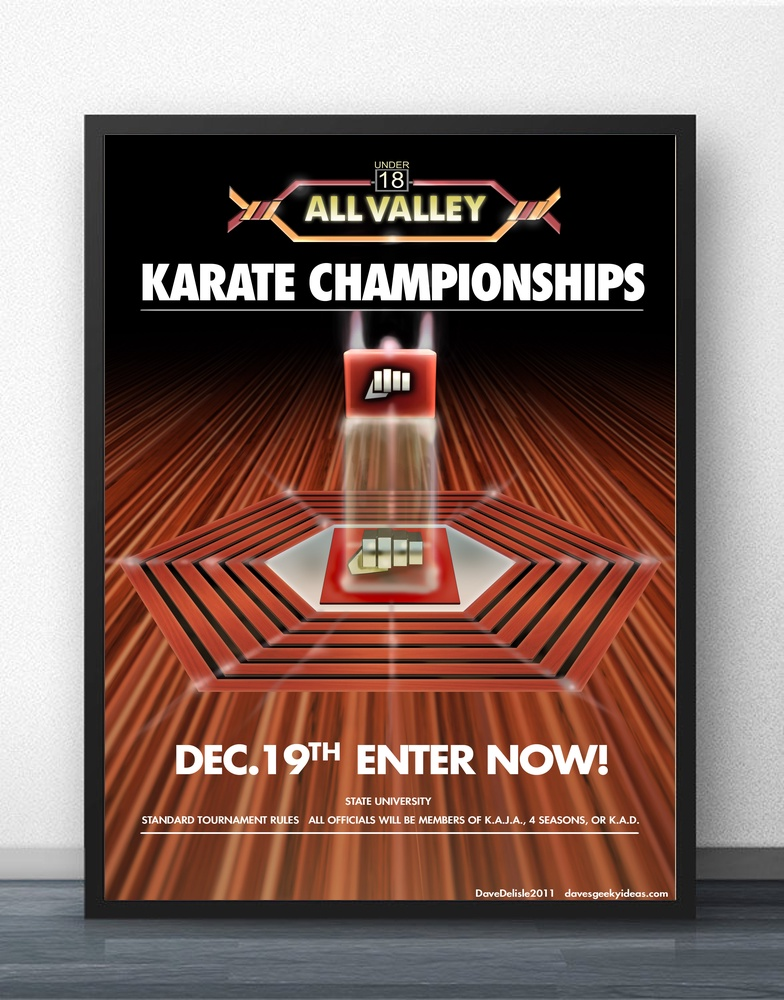Karate Kid Tournament All Valley Movie Wall Art Wall Decor Silk Prints Art Poster Paintings for Living Room No Frame image