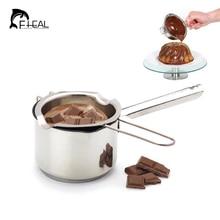 Multifunktionale 304 Material Edelstahl Schokolade Butter Milch Schmelztiegel Schokolade Geschmolzen Tank Zuckerdose Schmelzen