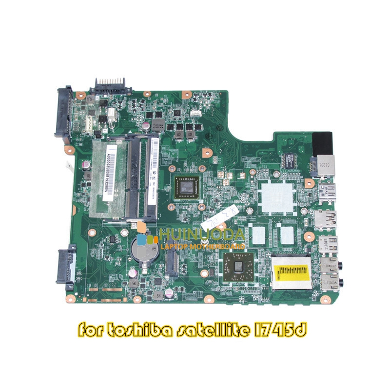 DA0TE6MB6G0 REV G A000093580 For Toshiba Satellite L745 L745D laptop motherboard EME450 CPU DDR3