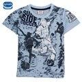 Retail 4y/8y verano embroma la camisa del muchacho camiseta de algodón Novatx marca camiseta de los niños camisetas de la moda para niños ropa