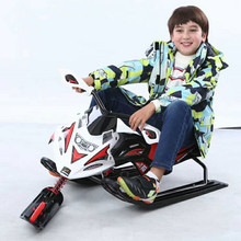 Skiing Vehicle Single Board Snowmobile Directional Snow Sledge Skiing Boards Children's winter outdoor toys Sports toys on snow