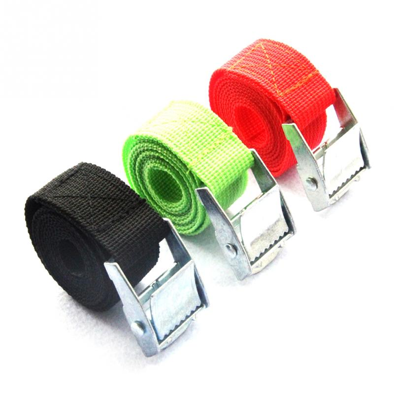 2m Adjustable Travel Suitcase Luggage Bag Nylon Pack Cam Tie Down Strap Lash Belt Metal Buckle Baggage Belts