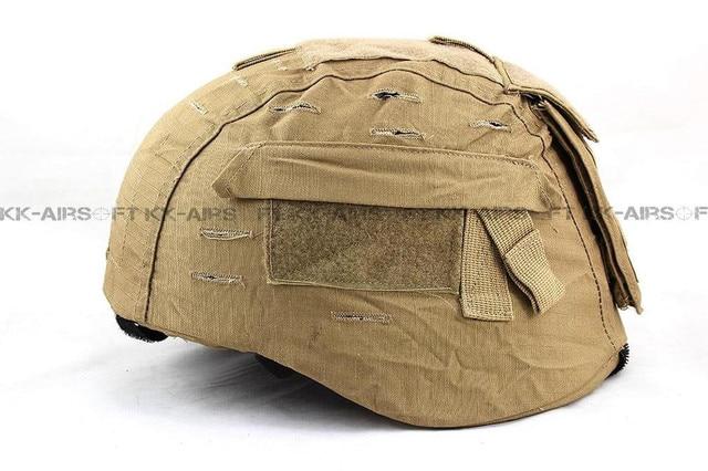 Helmet Cover helmet cloth Ver2 for MICH helmet TC-2000 ACH (Multicam ATFG ACU CB AT TAN) 4