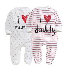 Spring Baby Rompers Body suits Newborn boys girls one-pieces