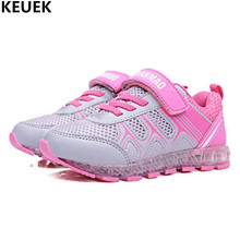 New Spring/Autumn Children Mesh Shoes Boys Girls Glowing Sneakers Student Sports Light Shoes Baby USB Charging Kids Shoes 03 2018 european sports children footwear spring autumn cool sneakers baby breathable girls boys shoes lovely light kids shoes