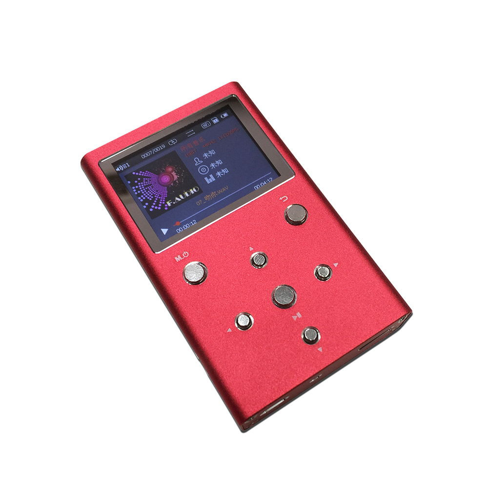 F Audio XS02 Digital Audio Player Dual AK4490EQ TPA6120A2