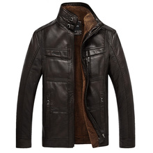 XingDeng PU Brand High Leather Jacket Men Coats plus 5XL Quality Outerwear Men B